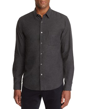 Theory - Rammy Lightweight Flannel Regular Fit Shirt - 100% Exclusive