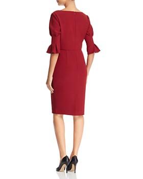 Badgley Mischka - Bell Sleeve Dress