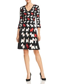 Boutique Moschino - Scottish Terrier-Print Dress