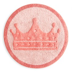 Caro Home - Princess Crown Kids Bath Rug - 100% Exclusive