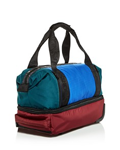 LeSportsac - Dakota Color-Block Nylon Roller Duffel Bag