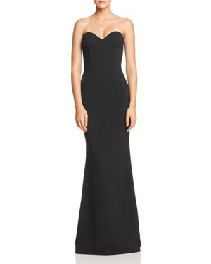 KATIE MAY Myra Strapless Sweetheart Gown - 100% Exclusive in Black