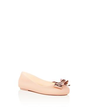 Mini Melissa Girls' Mel Space Love Ii Ballet Flats - Toddler, Little Kid