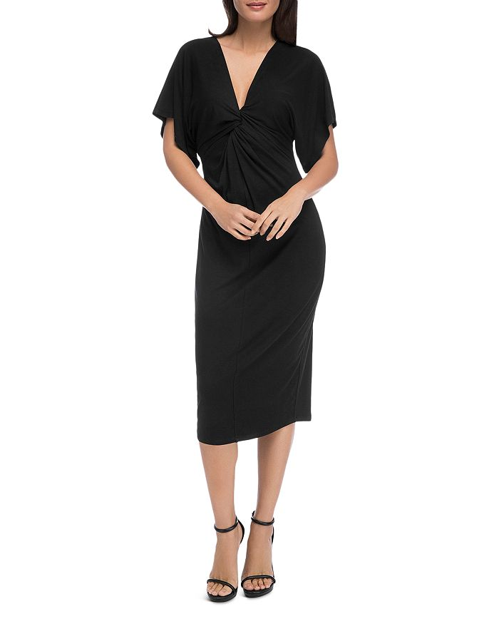 B Collection by Bobeau - Aubri Twist-Front Dress