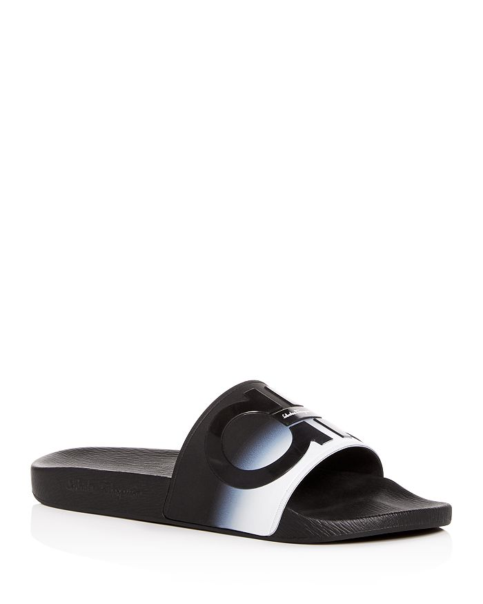 Salvatore Ferragamo - Men's Groove Slide Sandals - 100% Exclusive
