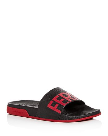 Salvatore Ferragamo - Men's Amos Slide Sandals