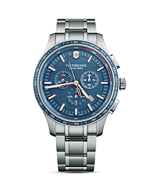 Victorinox Swiss Army Alliance Sport Blue Dial Chronograph, 44mm