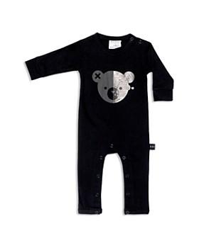 Huxbaby - Boys' Robo Bear Jersey Romper - Baby