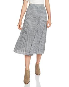 1.STATE - Pleated Midi Skirt