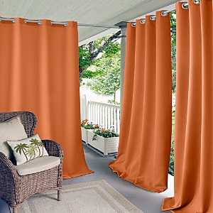 Elrene Home Fashions Connor Solid Indoor/Outdoor Curtain Panel, 52 x 95