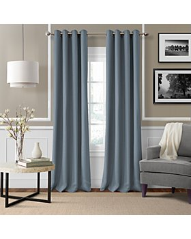 Elrene Home Fashions - Essex Solid Curtain Collection