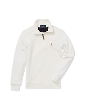 Ralph Lauren - Boys' Supima® Quarter-Zip Shirt - Little Kid
