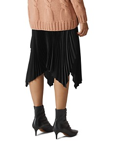 Whistles - Pleated Midi Skirt