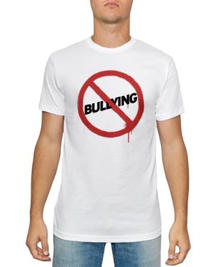 KID DANGEROUS Kind Campaign Anti-Bullying Graphic Tee in White