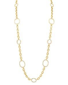 "Gumuchian - 18K Yellow Gold Carousel Diamond Convertible Necklace & Bracelet, 36"""
