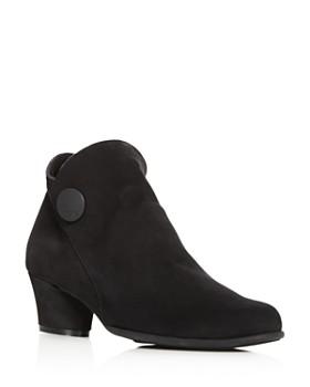 Arche - Women's Mussem Mid-Heel Booties