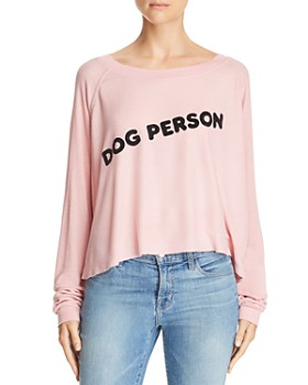 WILDFOX - Monte Dog Person Cropped Tee