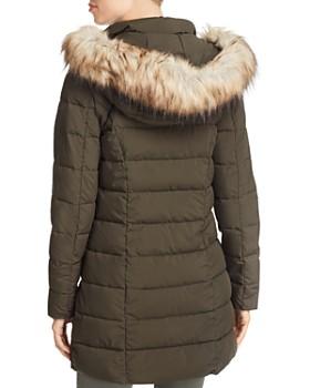 a3c353bd4d7 ... Laundry by Shelli Segal - Faux Fur Trim Hooded Puffer Coat