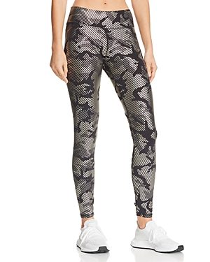 Terez Metallic Camo Leggings
