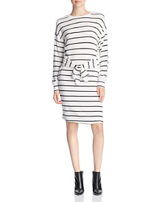 Alison Andrews - Striped Tie-Waist Dress