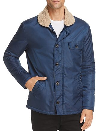 AG - Holt Faux Shearling-Lined Jacket
