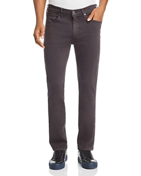 PAIGE - Federal Slim Straight Fit Jeans in Vintage Gray Hawk