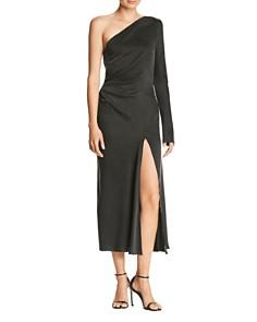 Bec & Bridge - Lucia One-Shoulder Silk Dress