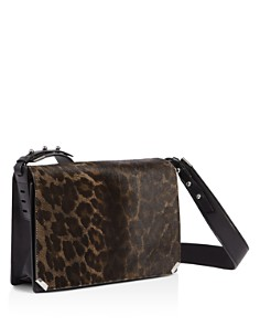 ALLSAINTS - Vincent Medium Leopard-Print Calf Hair Shoulder Bag