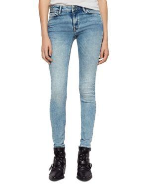 Allsaints Mast Skinny Jeans in Light Indigo 2969326