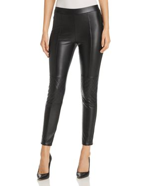1.state Faux Leather Moto Leggings