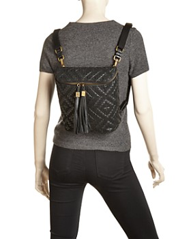 Eric Javits - Kaja Medium Woven Leather Backpack