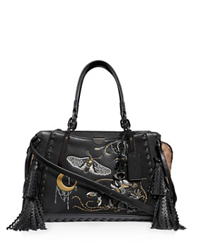 COACH - Dreamer Small Tattoo-Embellished Signature Canvas & Leather Carryall