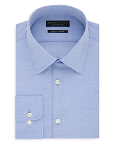The Men's Store at Bloomingdale's Solid & Textured Slim Fit Dress Shirt_0