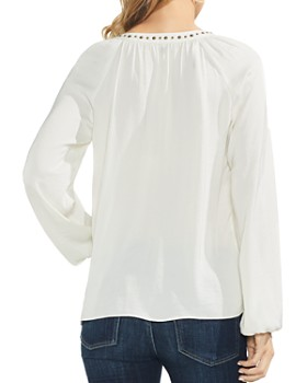 VINCE CAMUTO - Studded-Trim Top