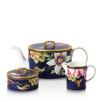 Wedgwood - Hummingbird 3-Piece Tea Set