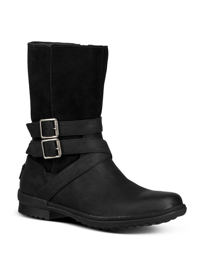 903806c5722 Women's Lorna Round Toe Leather Boots