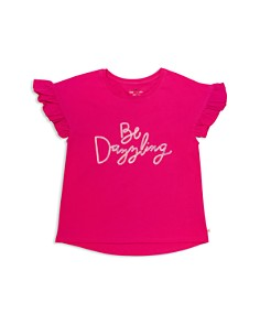 kate spade new york - Girls' Be Dazzling Sequin Tee - Big Kid