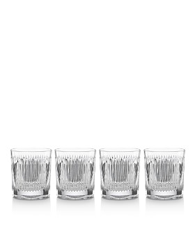 Reed & Barton - Hanson Double Old-Fashioned Glass, Set of 4