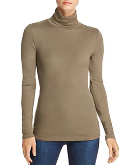 Splendid - Classic Slim Turtleneck Top
