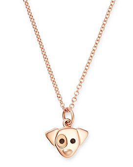 """Dodo - Jack Russell Pendant Necklace, 15.7"""""""