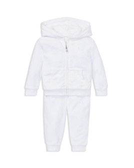 Ralph Lauren - Girls' Velour Hoodie & Pant Set - Baby