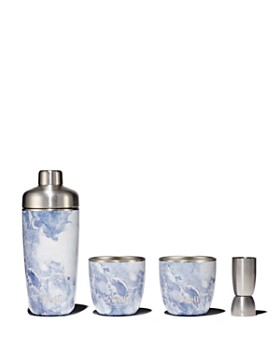 S'well - Blue Granite 4-Piece Barware Set - 100% Exclusive