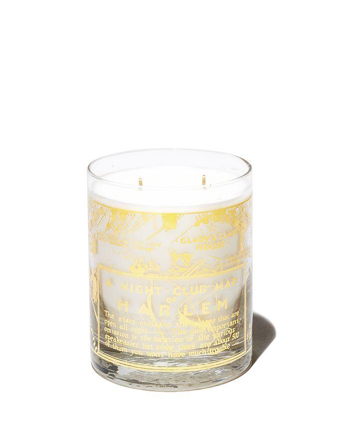 Harlem Candle Company - 22K Gold Nightclub Map of Harlem Savoy Luxury Candle