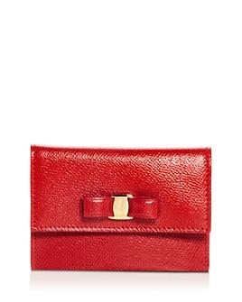 Salvatore Ferragamo - Vara Leather Card Case