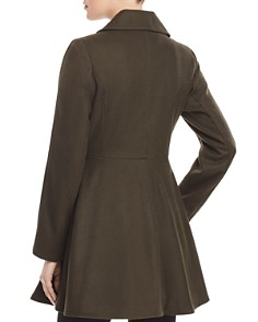 Laundry by Shelli Segal - Double-Breasted Button Front Military Coat