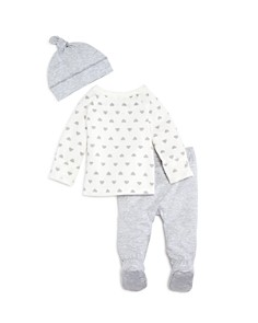 Bloomie's - Unisex Take Me Home Shirt, Footie Pants & Hat Set - Baby