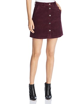 Vero Moda - Clea Wide-Wale Corduroy Mini Skirt