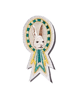 Coral & Tusk - Bunny Embroidered Badge