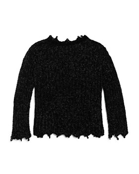 Vintage Havana - Girls' Chenille Sweater - Big Kid