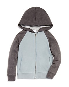 Splendid - Boys' Color-Block Zip Hoodie - Little Kid